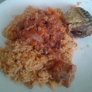 Poppybead blog - Jollof Rice