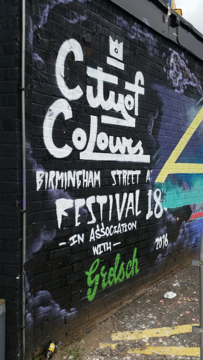 Poppybead blog - City of Colours Festival 2016