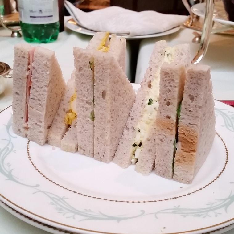 Afternoon tea at the Savoy - Poppybead