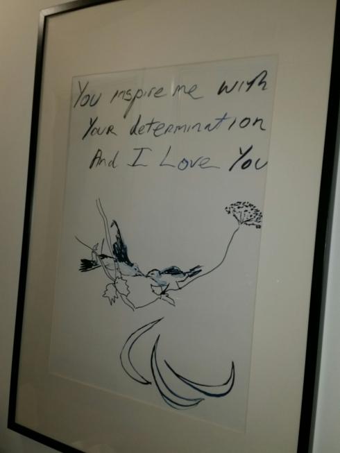Tracey Emin poster Poppybead Creative