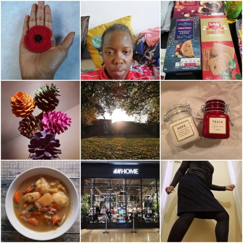 My week in photos collage